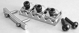 IBANEZ Klemmsattel 43mm - für JEM70V,STM1,STM2 chrom (2LN1BR43C)