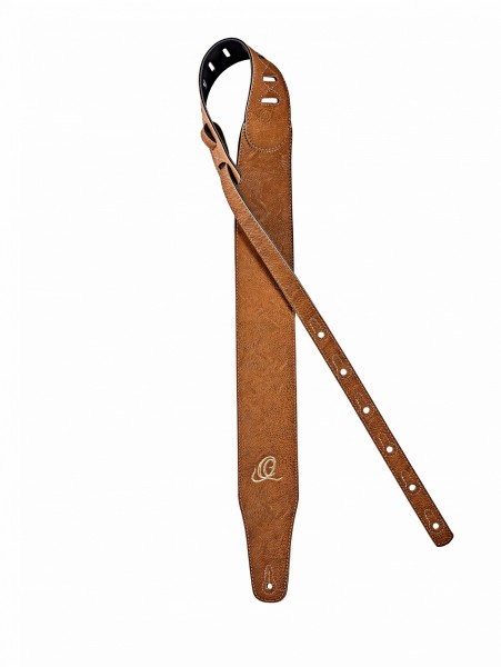 "ORTEGA Vegan Series Guitar Strap extra breit - Tan 3""/75mm (OSVG-75TN)"