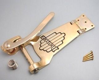 Ibanez VBF70 vintage vibrato gold-colored for AF75TDG/AF95TDG/AFS95T/AGR73T - für AF75TDG/AF95TDG/AFS95T/AGR73T vintage gold (2TP12A0003)