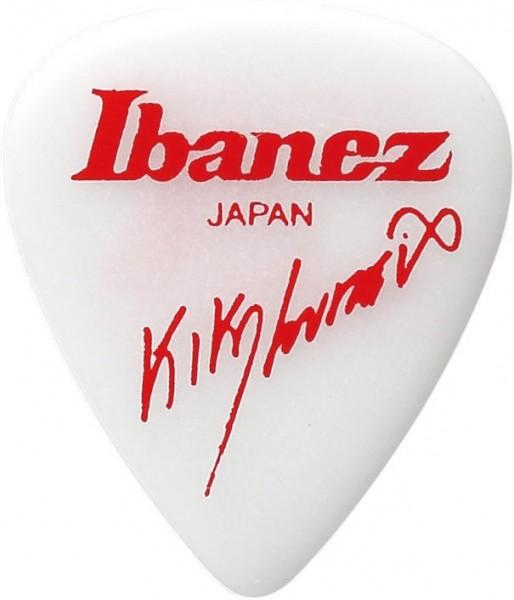 IBANEZ Kiko Loureiro Signature Series Picks 1,2mm black Polyacetal - 6 pcs. (B1000KL-WH)