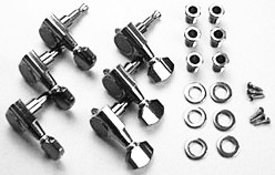 IBANEZ machine head set in cosmo black L*6 - for selected RG/SIGNATURE models (MB500CK)