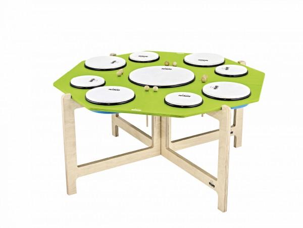 NINO Percussion Hand Drum Set - 9 pcs (NINO966)
