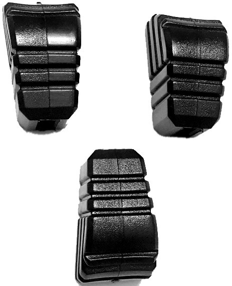 MEINL Percussion rubber feet (3 pcs set) - for THBS-S-BK (STAND-53)