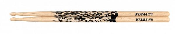 TAMA Rhythmic Fire Drumsticks - 5A-F - Natural (TAMA-O5A-F)