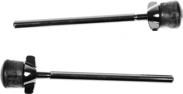 TAMA Bassdrumbeine - Black Nickel, 2 Stück, für Starclassic (MSP-SCBNT)