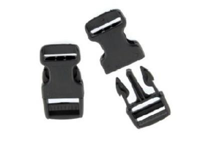 HARDCASE Clipverschluss Male und Female - Schmal 25mm (P985)