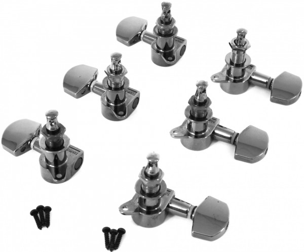 IBANEZ Mechanikensatz Die-Cast - für ARZ800/XH300 black cosmo black (2MH27A0009)