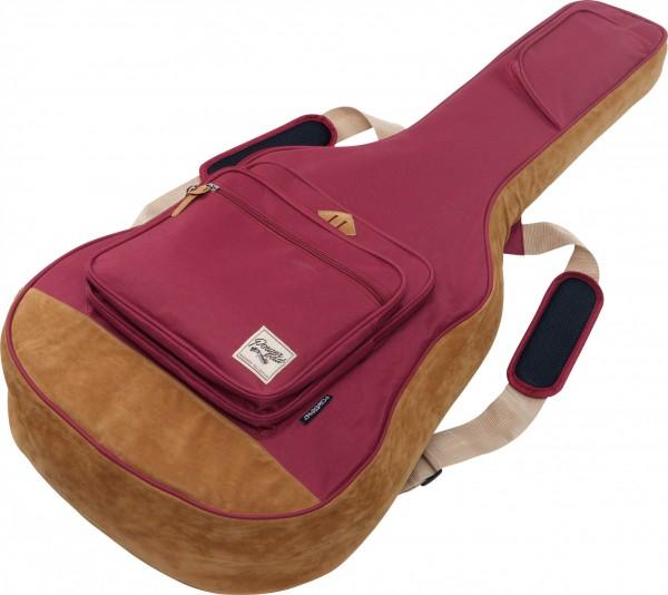 IBANEZ POWERPAD® Akustikgitarren Gigbag Designer Collection - weinrot (IAB541-WR)