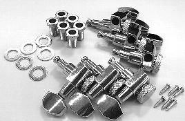 IBANEZ Locking tuner - 3L/3R Nickel (2MH4LA0015)