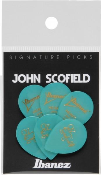 IBANEZ Picks Signature Series John Scofield - Flat Pick - 6 pcs. (B1000JS)