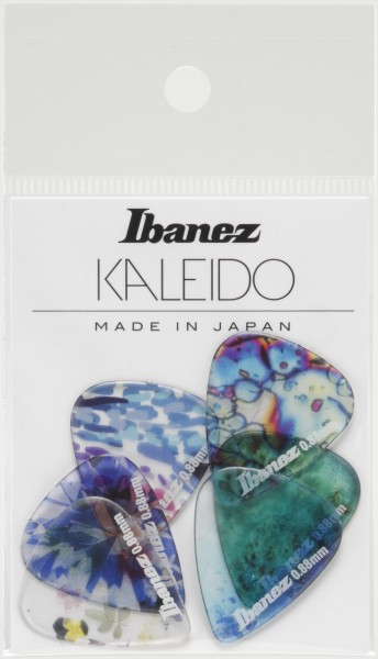 IBANEZ KALEIDO Series Picks - Copolyester Material Medium Heavy/ 6 pcs. Set (PCP14MH-C1)