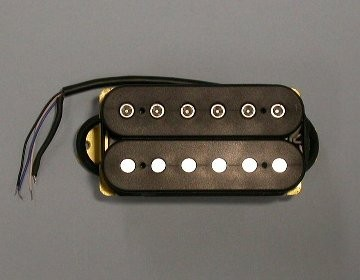 IBANEZ Pickup neck AH5 humbucker - for SC wiring hex in mate black for SA120 (3PU1C4064R)