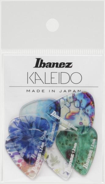 IBANEZ KALEIDO Series Picks - Copolyester Material Extra Heavy/ 6 teilig Set (PCP14XH-C1)
